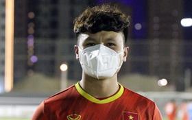 Quang Hải khen đầu bếp Trung Quốc nấu hợp khẩu vị, tự tin hướng đến trận đấu với Saudi Arabia