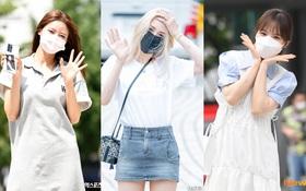 """Màn đọ sắc của dàn mỹ nhân Kpop đi làm: Wendy (Red Velvet) trắng bật tông, nữ thần lai Somi nhà YG như búp bê sống át cả """"thánh body"""""""