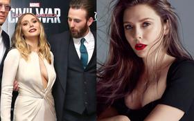 Có 1 mỹ nhân Avengers sexy hơn cả Góa Phụ Đen, vòng 1 khủng đến nỗi Đội Trưởng Mỹ Chris Evans phải dán mắt soi trên thảm đỏ