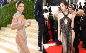 """Đánh đồng màn """"khoe hàng"""" của Ngọc Trinh với Kendall Jenner là bạn nhầm rồi!"""