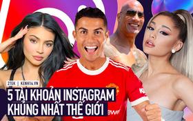 Top 5 tài khoản Instagram có lượng follower khủng nhất thế giới: Ronaldo chỉ xếp thứ 2, vị trí top 1 lại là một bất ngờ lớn!