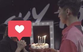 Không phải Hải Tú hay Thiều Bảo Trâm, đây mới là cô gái duy nhất Sơn Tùng từng công khai tặng bánh và chúc mừng sinh nhật