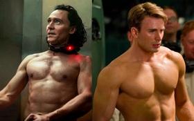 """5 khoảnh khắc sexy nghẹt thở ở phim Marvel: Captain America """"biến hình"""" siêu hot nhưng sao bằng lần Loki hở 100%!"""