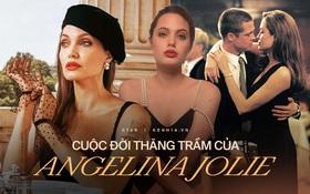 """Angelina Jolie: 14 tuổi đã nổi loạn và tự tử bất thành, """"gái hư"""" 2 lần đeo mác tiểu tam đến minh tinh nghị lực vượt qua ung thư"""