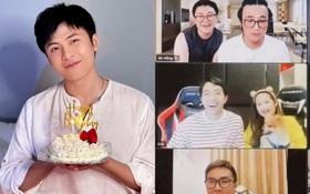 """Sinh nhật mùa """"Cô vy"""" của Gin Tuấn Kiệt: Hội bạn tụ họp online 6 tiếng rôm rả, """"bạn gái"""" Puka không thể vắng mặt!"""