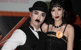 """Chân Tử Đan """"nhái"""" Charlie Chaplin để né trả lời phỏng vấn"""