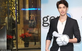 Thái Y Lâm lộ ảnh hẹn hò với siêu mẫu ở khách sạn