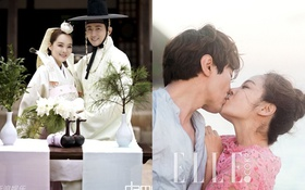 Mãn nhãn loạt ảnh cưới long lanh của Chae Rim - Cao Tử Kỳ