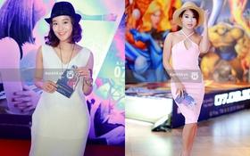 Hai hot girl đời đầu Mi Vân và Diễm Hằng đọ sắc tại họp báo phim