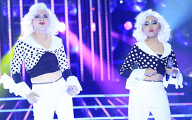 """GMTQ nhí: Phương Mỹ Chi đội tóc """"trắng toát"""", nhảy sung khi giả Madonna"""