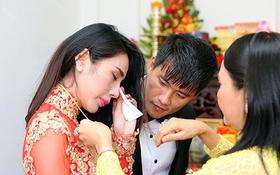 Thủy Tiên nghẹn ngào nhớ về cha sau ngày cưới