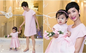 Xuân Lan dẫn con gái 1 tuổi đến dự đám cưới học trò cưng Lê Thúy