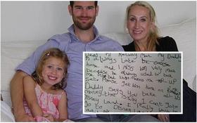 Xúc động bức thư cô bé 6 tuổi mong tàu khởi hành đúng giờ để bố về nhà sớm