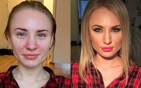 Chùm ảnh chứng minh sức mạnh của make up không thua gì PTTM