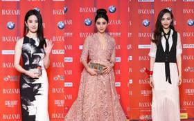 Dàn sao hot nhất Cbiz lộng lẫy hội tụ trên thảm đỏ Bazaar