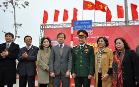 Đường hiện đại nhất Thủ đô chính thức mang tên Võ Nguyên Giáp