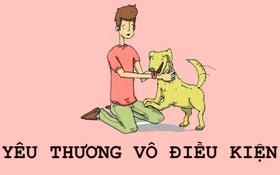 Những bài học giản dị từ loài chó trong tranh vẽ dễ thương