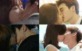 Ngây ngất các cảnh hôn đáng ghen tị trong drama Hàn