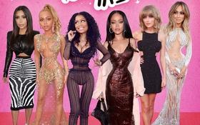 Bật ngửa trước phiên bản búp bê Barbie của sao Hollywood