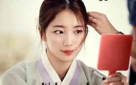 Suzy (miss A) cực xinh đẹp với hanbok trong loạt ảnh hậu trường