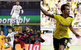 Man Utd vắng bóng trong Top 10 trung vệ hàng đầu thế giới