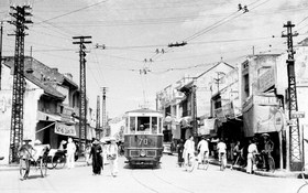 Chùm ảnh Hà Nội 1940 trước ngày toàn quốc kháng chiến