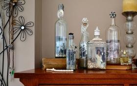 Làm lọ giữ ký ức từ vỏ chai thủy tinh cũ cực lãng mạn