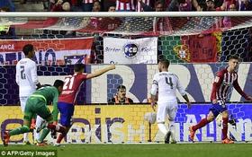 """Bị Atletico chia điểm, Real Madrid lỡ cơ hội """"lên đỉnh"""" La Liga"""