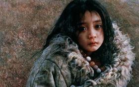 """""""Sầu Tây Tạng"""" - Bộ tranh mê hoặc lòng người của nghệ sĩ Trung Quốc"""