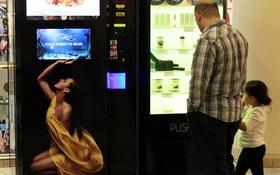 """Những máy bán hàng tự động """"dị"""" nhất thế giới"""