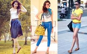 """Khi mỹ nhân Việt """"từ bỏ"""" những đôi giày cao gót"""
