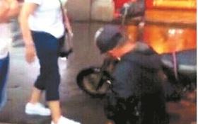 Ông lão bị bắt quỳ giữa phố xin lỗi vì làm vỡ màn hình điện thoại iPhone 6