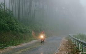 Cảnh báo trơn trượt trên đường đến lễ hội hoa tam giác mạch ở Hà Giang