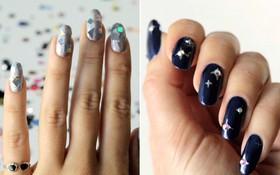 DIY 3 kiểu móng tay đơn giản mà lung linh cho dịp lễ hội