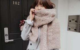 Tường tận những cách quàng cho loạt kiểu khăn mùa lạnh