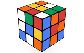 """Google """"chế"""" Rubik khổng lồ trên trang chủ"""