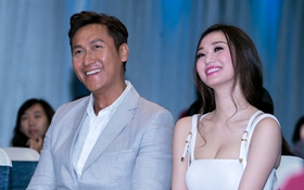 Sao TVB Mã Đức Chung xuất hiện phong độ bên Khánh My, HKT