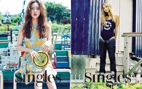 Hai sắc thái đối lập của Shin Se Kyung - Hyorin trên cùng tạp chí