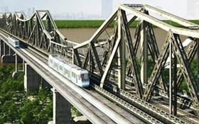 Đề xuất cầu đường sắt cách cầu Long Biên 75m