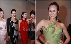 """Phương Mai nổi bật bên dàn thí sinh """"cũ"""" của Next Top Model 2011"""