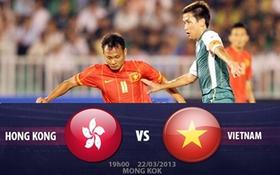 Hong Kong 1-0 Việt Nam: Thua đáng tiếc