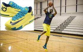 Sao bóng rổ Mỹ khoe siêu giày thế hệ mới của Nike