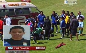 Thi đấu ở độ cao hơn 3.000m, cầu thủ U18 Peru chết ngay trên sân