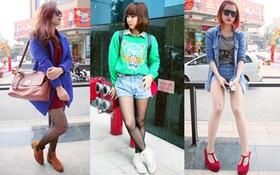Street style màu sắc của giới trẻ Hà thành những ngày cận Tết