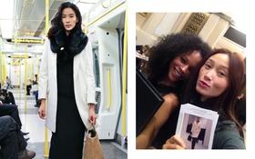 """Hoàng Thùy, Trang Khiếu cùng """"thử sức"""" tại London Fashion Week"""