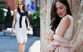 10 cách mặc thú vị khiến chiếc cardigan đơn giản trở nên phong cách