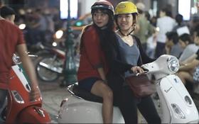 Giới trẻ đổ ra đường tận hưởng tiết trời lạnh đầu mùa của Hà Nội