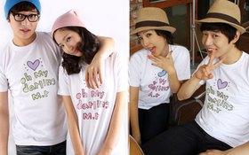 Những slogan yêu nhất trên áo đôi Valentine