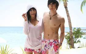 Đồ bơi cực kul cho cặp đôi đi biển