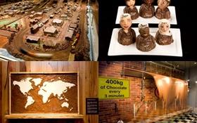 Đi thăm nhà máy sản xuất sôcôla